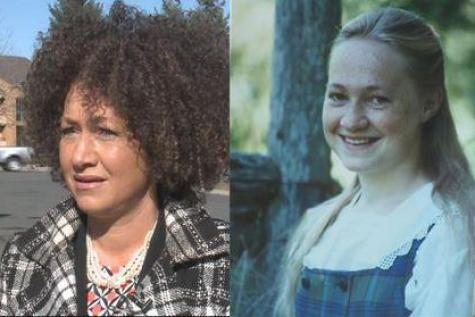 femme blance activiste noire