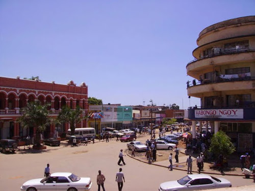 Une vue du centre ville de Lubumbashi. Photo congoplanete.com