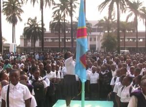 salut au drapeau