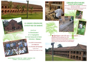 Prospectus grand séminaire kabwe