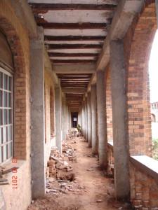 bâtiment du grand séminaire en voie de réhabilitation