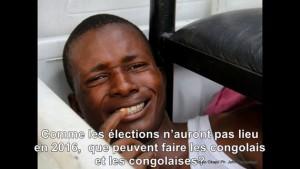 manifestant congolais arrêté