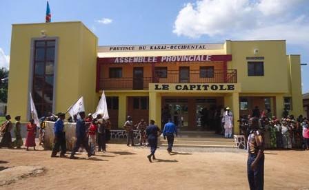 Le bâtiment de l'assemblée provinciale du Kasaï-Occidental (Photo André Kambala)
