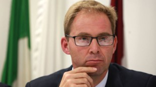 Mandatory Credit: Photo by Richard Gardner/REX Shutterstock (3188233c) Tobias Ellwood MP, PPS to the Minister for Europe Germany after the elections discussion, London, Britain - 14 Oct 2013