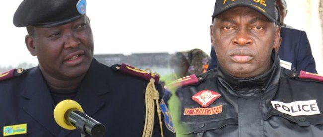 arrivé commissaire principal a lubumbashi