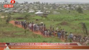 Réfugiés kasaiens en Angola