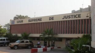 Une vue du bâtiment de la cours suprême de justice à Kinshasa. Radio Okapi/ Ph. John Bompengo