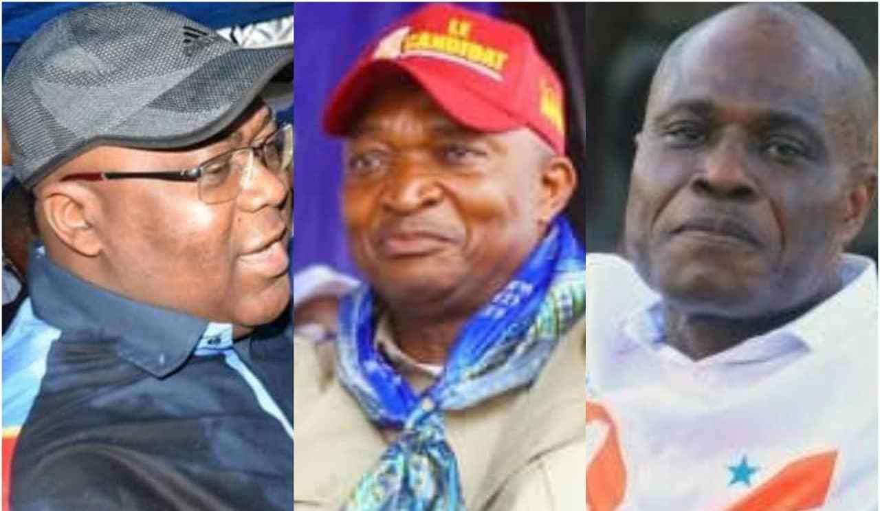 trois candidats élection présidentielle