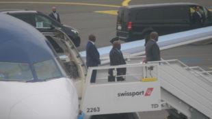 arrivée tshisekedi en Belgique