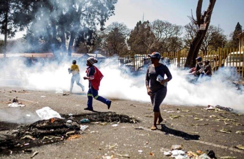 violence en afrique du sud