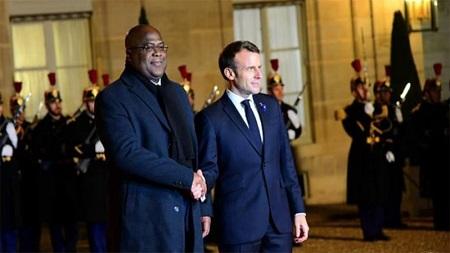 Félix-Tshisekedi-Emmanuel-Macron