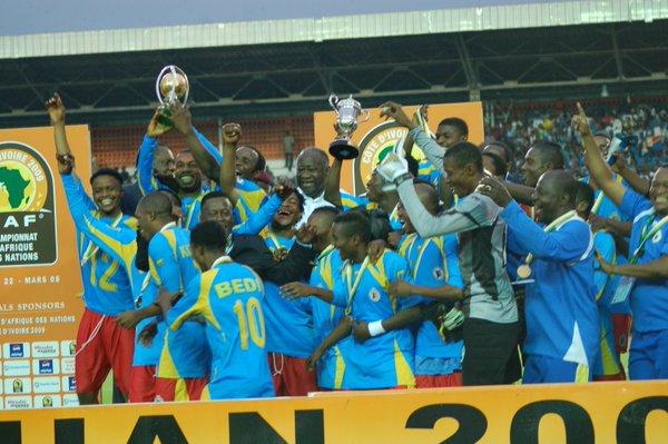 les champions d'Afrique 2016