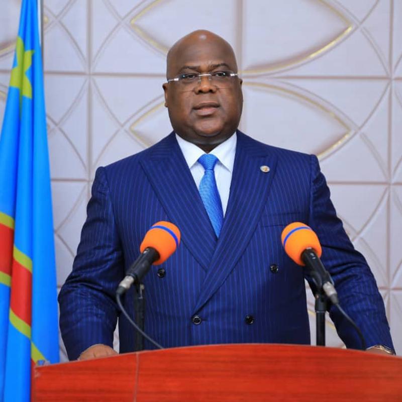 président félix tshisekedi