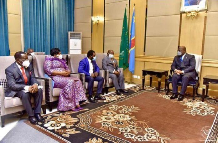président tshisekedi et bahati